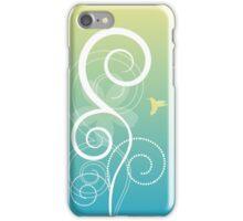 Floral Decor Vector Illustration iPhone Case/Skin
