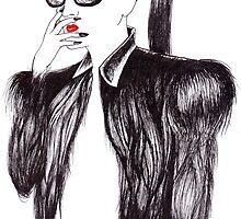 Lady In Black by Kevin Paz
