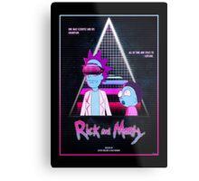 Rick and Morty - Nitro Overdrive Metal Print