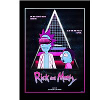 Rick and Morty - Nitro Overdrive Photographic Print