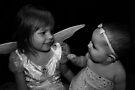 Little Girl & Baby by Evita