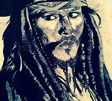 Captain Jack Sparrow by PurpleCats9498