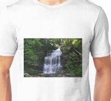 Hot August Relief Below Ganoga Falls Unisex T-Shirt