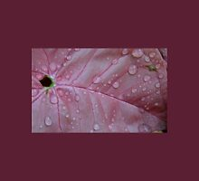 Pink With Water Drops Unisex T-Shirt