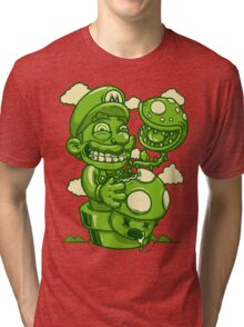 Mario Shrooms Tri-blend T-Shirt