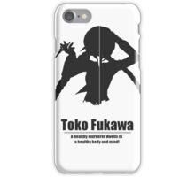 Minimalist Toko Fukawa iPhone Case/Skin