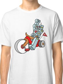 hot wheeling robot love Classic T-Shirt
