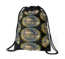 Spiritual Kloth Venusun by Kordial Orange Drawstring Bag