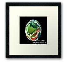 ( PLANET PLANET )  ERIC WHITEMAN ART  Framed Print