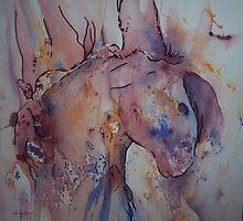 Her paint by Ellen Keagy
