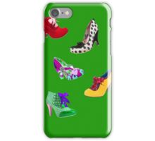 Shoes, shoes, which shall I choose? iPhone Case/Skin