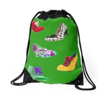 Shoes, shoes, which shall I choose? Drawstring Bag
