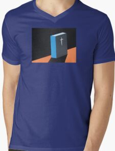 book Mens V-Neck T-Shirt