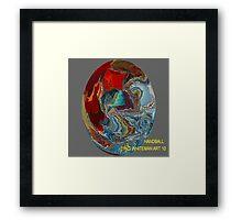( HANDBALL )    ERIC  WHITEMAN ART   Framed Print