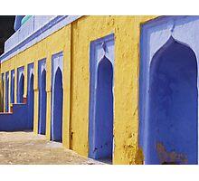 mosque in bundi Photographic Print