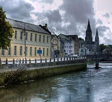 View of the Canal - Cork, Ireland by Mark Richards