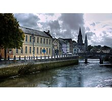 View of the Canal - Cork, Ireland Photographic Print