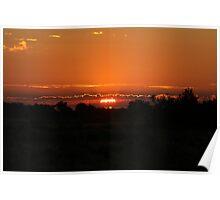 Delta Sunrise Poster