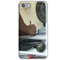 working on the street iPhone Case/Skin
