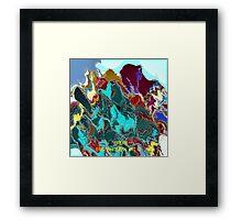 ( DREAM )  ERIC WHITEMAN  ART  Framed Print