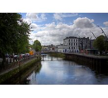View from a Bridge - Cork, Ireland Photographic Print