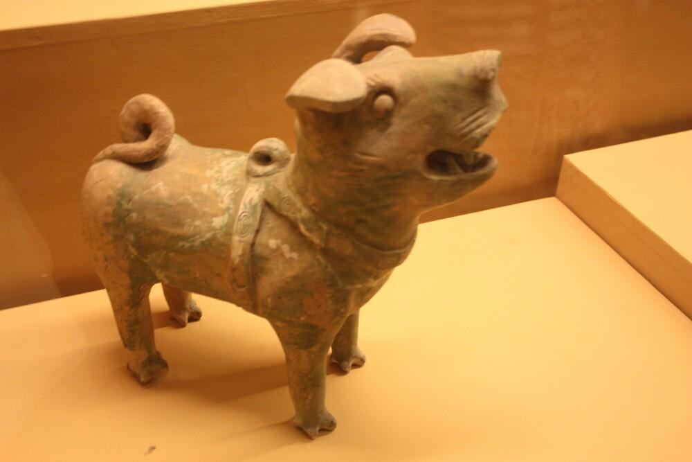 Barking Dog - Xi'an History Museum by xuyichi