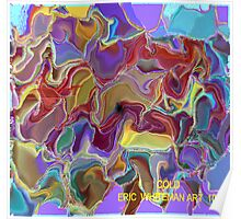 ( COLD )   ERIC WHITEMAN ART  Poster