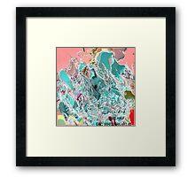 ( BAKE HALF )   ERIC WHITEMAN  ART  Framed Print