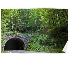 Blue Ridge Parkway Tunnel Poster