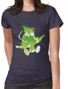 Celebi used leaf storm Womens Fitted T-Shirt