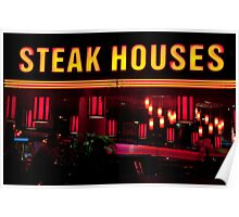 Steak Houses Poster