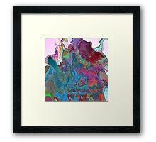 ( THE  MAGIC  RABBIT  )   ERIC WHITEMAN   Framed Print
