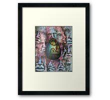 tormented Framed Print