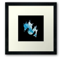 Gyrados used surf Framed Print