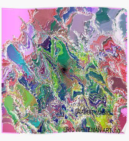 ( RABBIT  MAGIC )   ERIC   WHITEMAN  ART  Poster