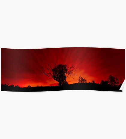 Red Sky Poster