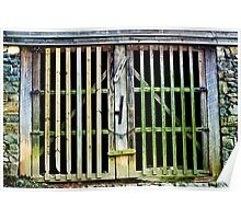 Gate to the Eno River Mill Poster