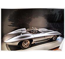 1959 Chevrolet Corvette Stingray Concept Racer Poster