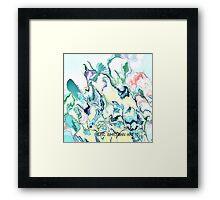 ( HALF )  ERIC  WHITEMAN  ART   Framed Print