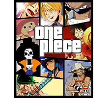 One Piece (GTA Style) Photographic Print