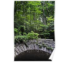 Stone Tunnel over the Parkway Poster
