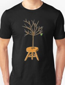 Wacky Design - Tree-stool Unisex T-Shirt