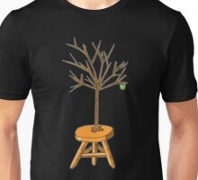 Wacky Design - Tree-stool Unisex T-Shirt