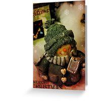 Holiday Greetings 2 Greeting Card