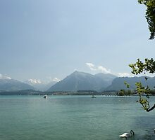 Peaceful view from Thun, Switzerland by BoxedMoments