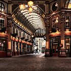 Leadenhall Market by Les Forrester