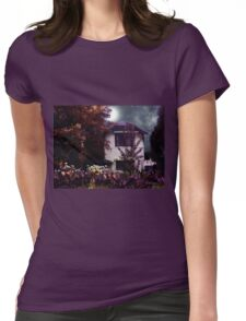 Autumn Night in the Country Womens Fitted T-Shirt
