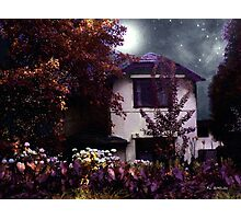 Autumn Night in the Country Photographic Print