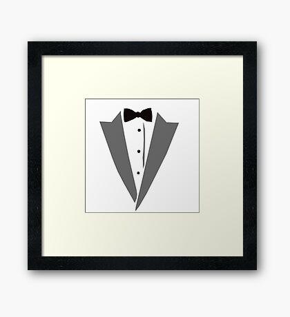 Casual Tuxedo Framed Print