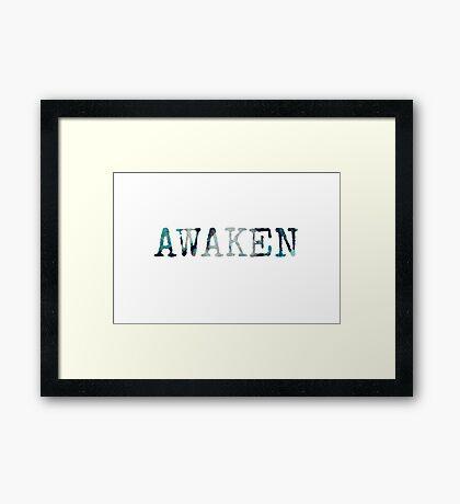 awaken...two~ Framed Print